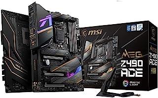MSI MEG Z490 ACE Gaming Motherboard (ATX, 10th Gen Intel Core, LGA 1200 Socket, SLI/CF, Triple M.2 Slots, USB 3.2 Gen 2, W...