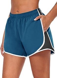 COOrun Sweatshorts voor dames, korte joggingbroek, sportshort, polyester trainingsbroek