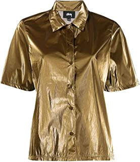 Luxury Fashion | Stussy Womens 211183GOLD Gold Shirt | Spring Summer 20