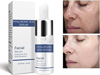 Hyaluronic Acid Serum Snail Essence Face Cream Moisturizing Acne Treatment Skin Care Repair Whitening AntiAnging Winkles by Superjune