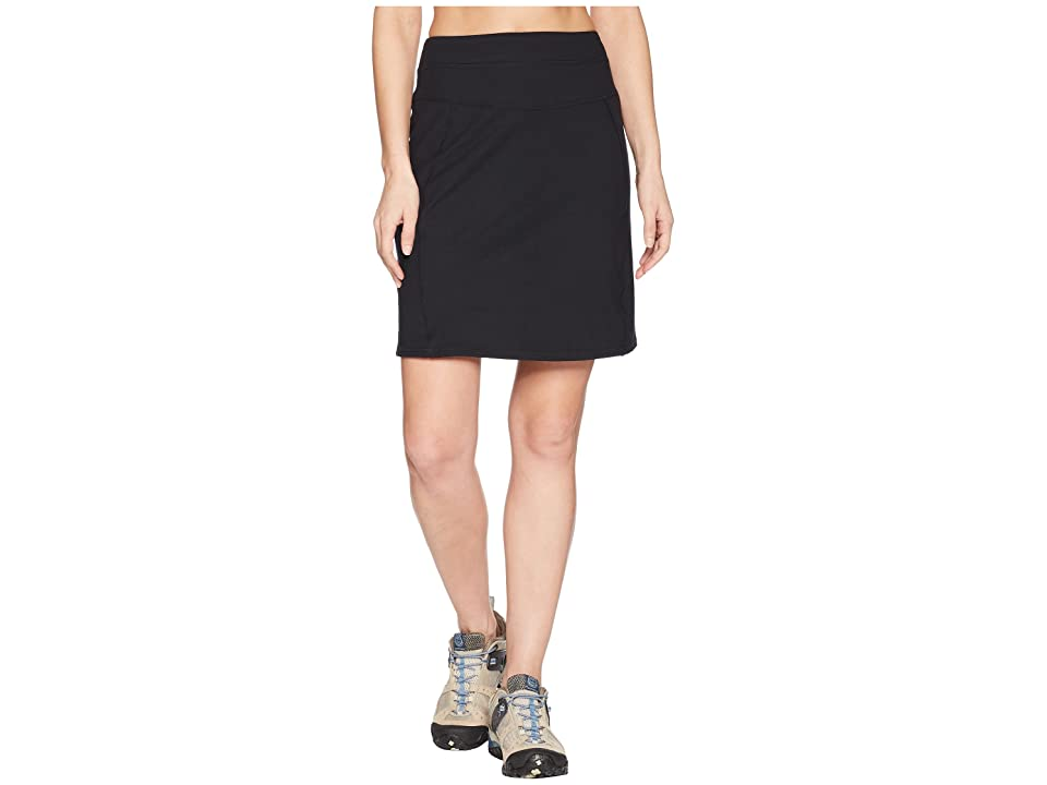 Aventura Clothing Stratus Skirt (Solid Black) Women