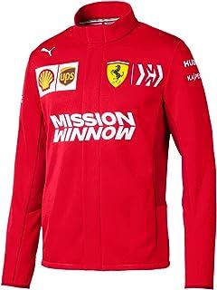 Ferrari Scuderia 2019 F1 Men's Team Softshell Jacket Red - Red - XX-Large