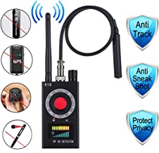 Anti Spy Detector RF Bug Detectors,Hiddem Camera Detectors Finders,Cellphone GPS Signal Bug Detectors,Listening Device Detector--Hotels,Homes,Life Safety