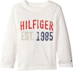 Tommy Hilfiger Kids - Hilfiger-Bex Jersey Long Sleeve Tee (Toddler/Little Kids)