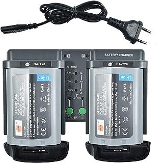 DSTE® 2Pack LP-E4N(10.8V/3350mAh) Batería + DMH26A 3-in-One Power Batería Cargador Compatible para LP-E19 Canon EOS-1D X Mark II,EOS-1D X,EOS-1D Mark IV,EOS-1Ds Mark III,EOS-1D Mark III Kamera