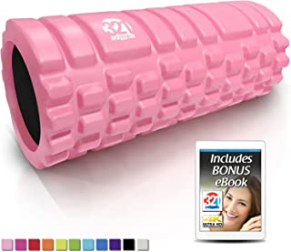 321 STRONG Foam Roller - Medium Density Deep Tissue...