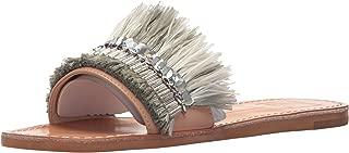 grey fringe sandals