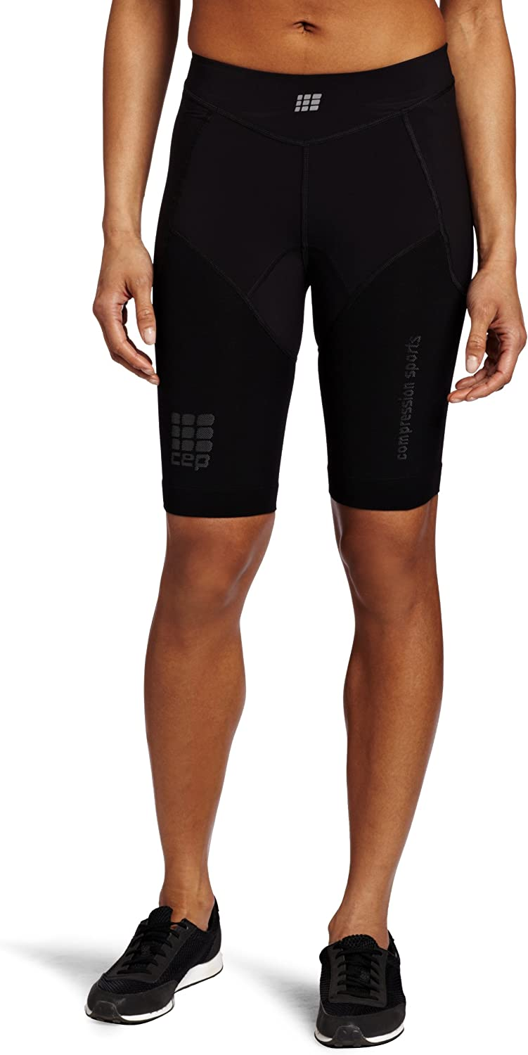 Cep Women's Compression Run Short, Black I