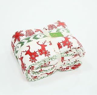 بطانية الفانيلا المطبوعة بطانية الصيف تكييف الهواء بطانية القيلولة بطانية عارضة 200 * 230cm Redmoose