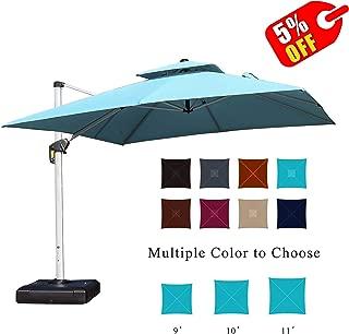 Best large free standing patio umbrellas Reviews