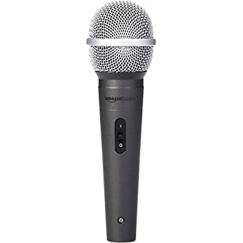 AmazonBasics Dynamic Vocal Microphone – Cardioid