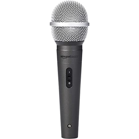Amazon Basics Dynamic Vocal Microphone – Cardioid