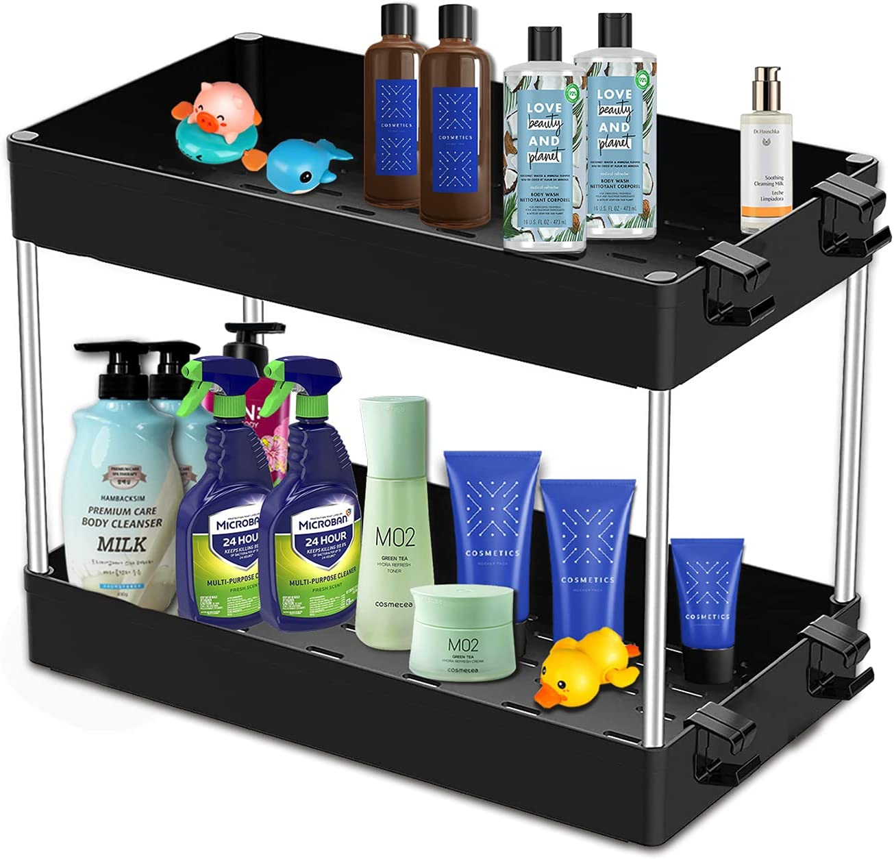 Max 90% 70% OFF Outlet OFF Cleaner Organizer Under Sink Bathroom Stora