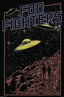 Pyramid America Foo Fighters UFO Music Cool Wall Decor Art Print Poster 24x36
