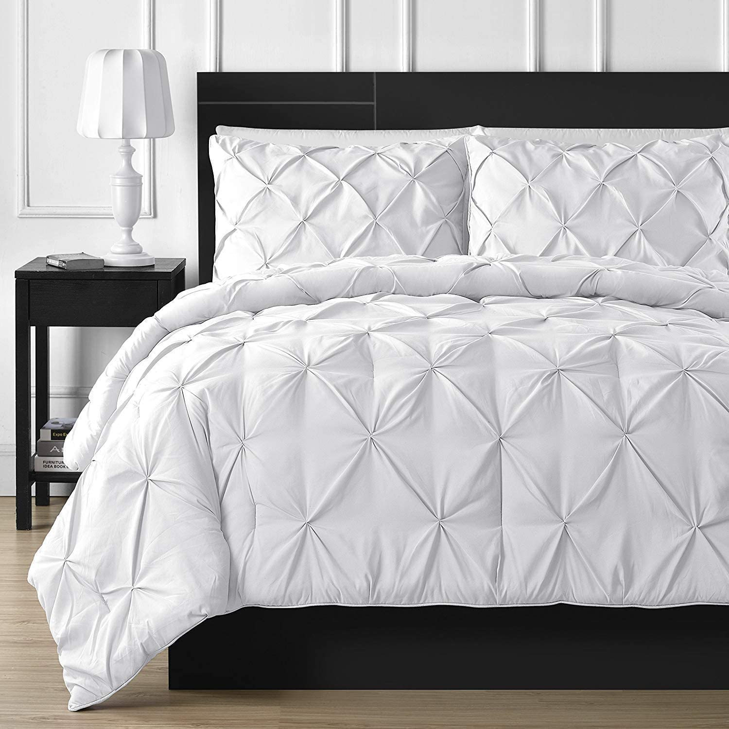 Express trading Pinch Pleated Duvet Cover 100% Piece 5 Set Import Egypt Max 75% OFF