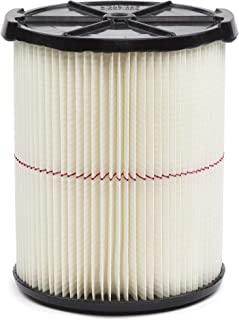 Best CRAFTSMAN CMXZVBE38754 Red Stripe General Purpose Wet Dry Vac Replacement Filter for 5 to 20 Gallon Shop Vacuums Review