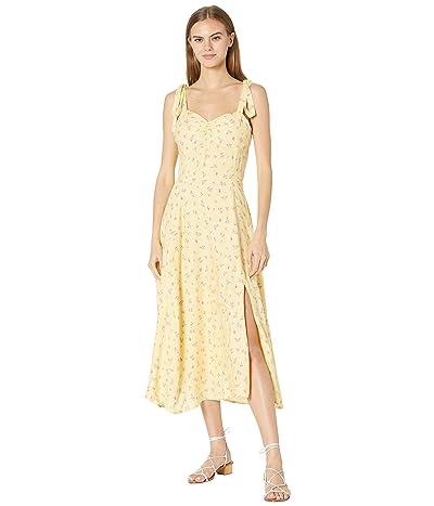Bardot Midi Bow Tie Dress