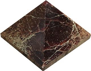 CRAFTSTRIBE Natural Reiki Energy Charged Garnet Pyramid Toxic Protective Healing Energy