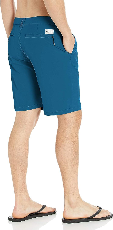 Quiksilver Mens Union Amphibian Hybrid 20 Inch Outseam Short Casual Shorts