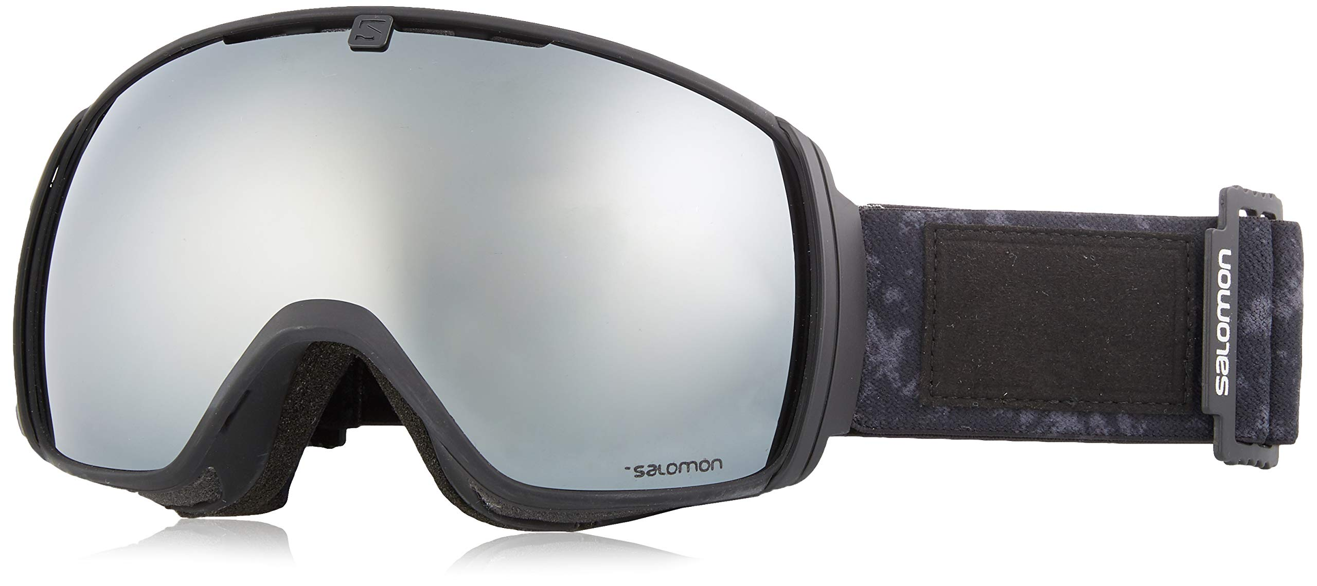 Salomon ski Goggles One Black Tie