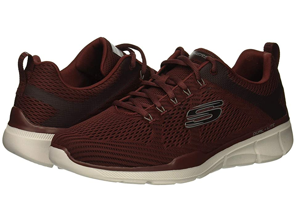 SKECHERS Equalizer 3.0 (Burgundy) Men