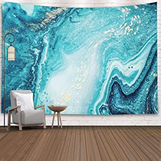 Pamime Hang Wall Tapestry,Home Decor Tapestry Abstract Ocean Art Natural Luxury Style The..