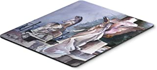 Caroline's Treasures Angels in the Cemetary with Cross Mouse Pad/Hot Pad/Trivet (JMK1201MP)