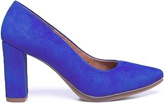 MiMaO schoenen damesschoenen van leer, gemaakt in Spanje. High Heel Schoenen comfortabele damesschoen Urban met inlegzool ...