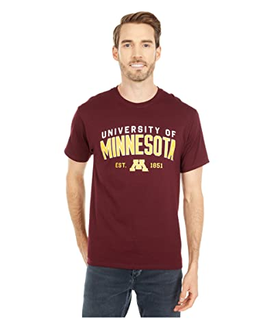 Champion College Minnesota Golden Gophers Jersey Tee (Maroon 4) Men