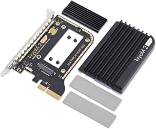 Aqua Computer kryoM.2 evo PCIe 3.0 x 4, Adapter for M.2 NGFF PCIe SSD, M-Key with Passive Cooler