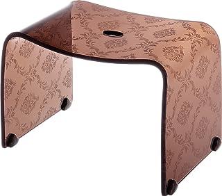 リス 風呂椅子 ファシーナ バスチェア M クリアブラウン