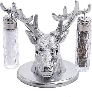 Arthur Court Designs Aluminum Antler Stand for Glass Hanging Salt and Pepper