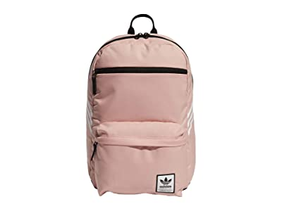 adidas Originals Originals National SST Recycled Backpack (Trace Pink/White) Backpack Bags