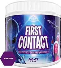 Ak-47 Labs First Contact Pre – Workout Energy Drink Powder – 240g 30 Servings Bubblegum Estimated Price : £ 22,95