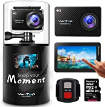 VanTop Moment 4 4K Waterproof Sports Action Camera with Accessories Kit
