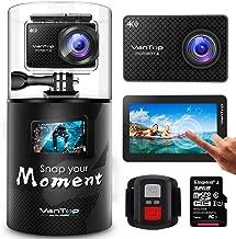 VanTop Moment 4 4K Sports Action Camera w/ 32GB Microsd...
