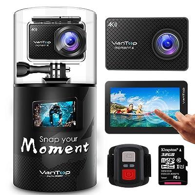 VanTop Moment 4 4K Sports Action Camera
