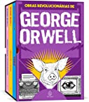 As obras revolucionárias de George Orwell - Box com 3 livros