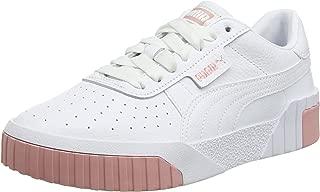 PUMA Cali Womens White/Rose Gold Trainers