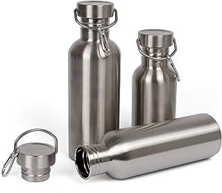 comprar comparacion Botella de Agua Acero Inoxidable 500ml / 750ml / 1l BPA Free Botella Deportiva Para Viaje, Bicicleta, Camping