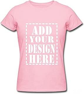 Custom Breath Short Sleeve Cotton t Shirt Men Your Personalized Design Print Front