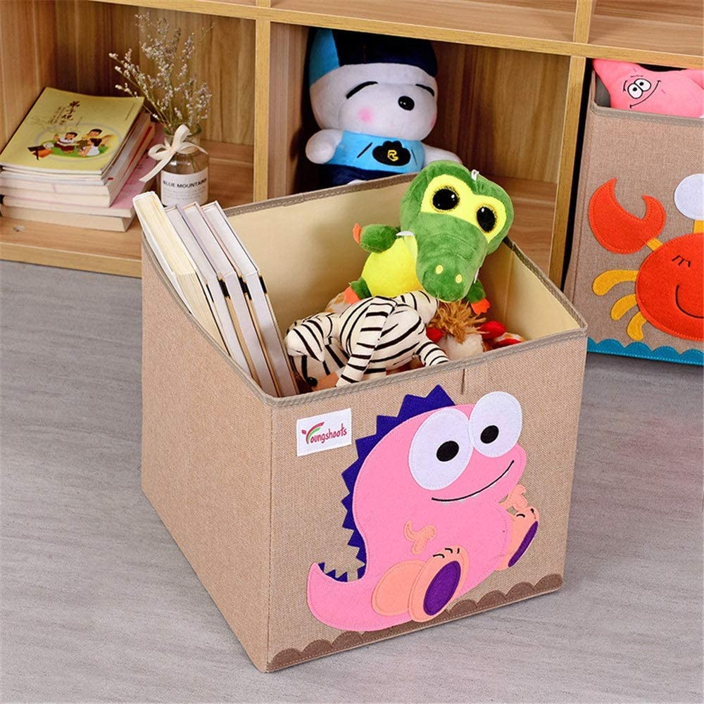 MxZas Kid's Max 73% OFF Toy Organizer Durable Collapsible Storage Box Limited price sale Jumbo