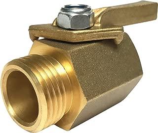 Best heavy duty brass shut off valve Reviews