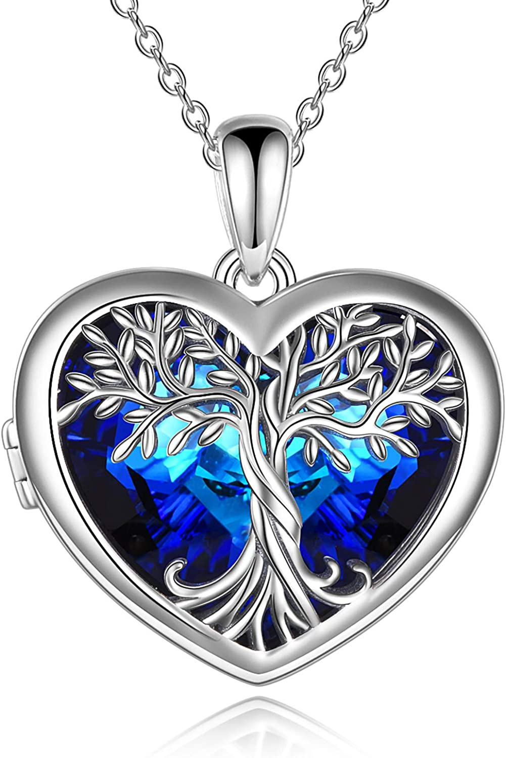 Tree of Life Womens Jewelry New Award York Mall Sterling Gift Pendant Silver Necklac