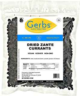 Sponsored Ad - GERBS Zante Black Currants, 32 ounce Bag, Unsulfured, Top 14 Food Allergy, Preservative Free, Product of Gr...