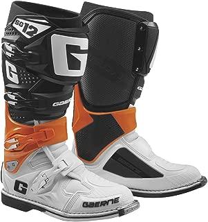 Gaerne New 2019 SG-12 Men's Motocross Boots (Orange/Black/White)