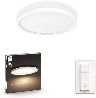 Philips Hue Aurelle plafondlamp - Duurzame LED Verlichting - Warm tot Koelwit Licht - Incl. dimmer switch - Dimbaar - Verb...