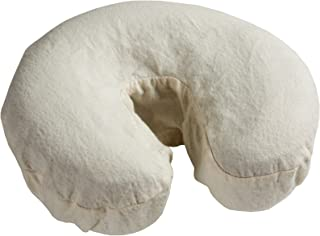 Comfort© Flannel Massage Face Cradle Covers - 5 Pack (Natural)
