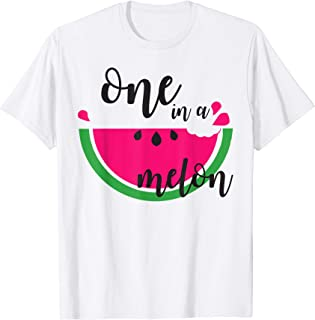 one in a melon shirt