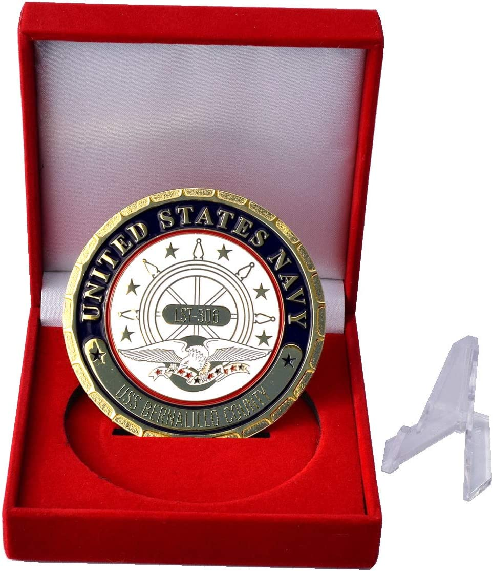 USS Bernalillo County LST Plaque 306 Navy Sales Ranking TOP7 of SALE items from new works Ship